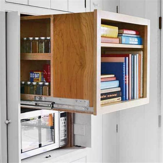 Meet storage your new best friend interiors connected for Galley kitchen storage solutions